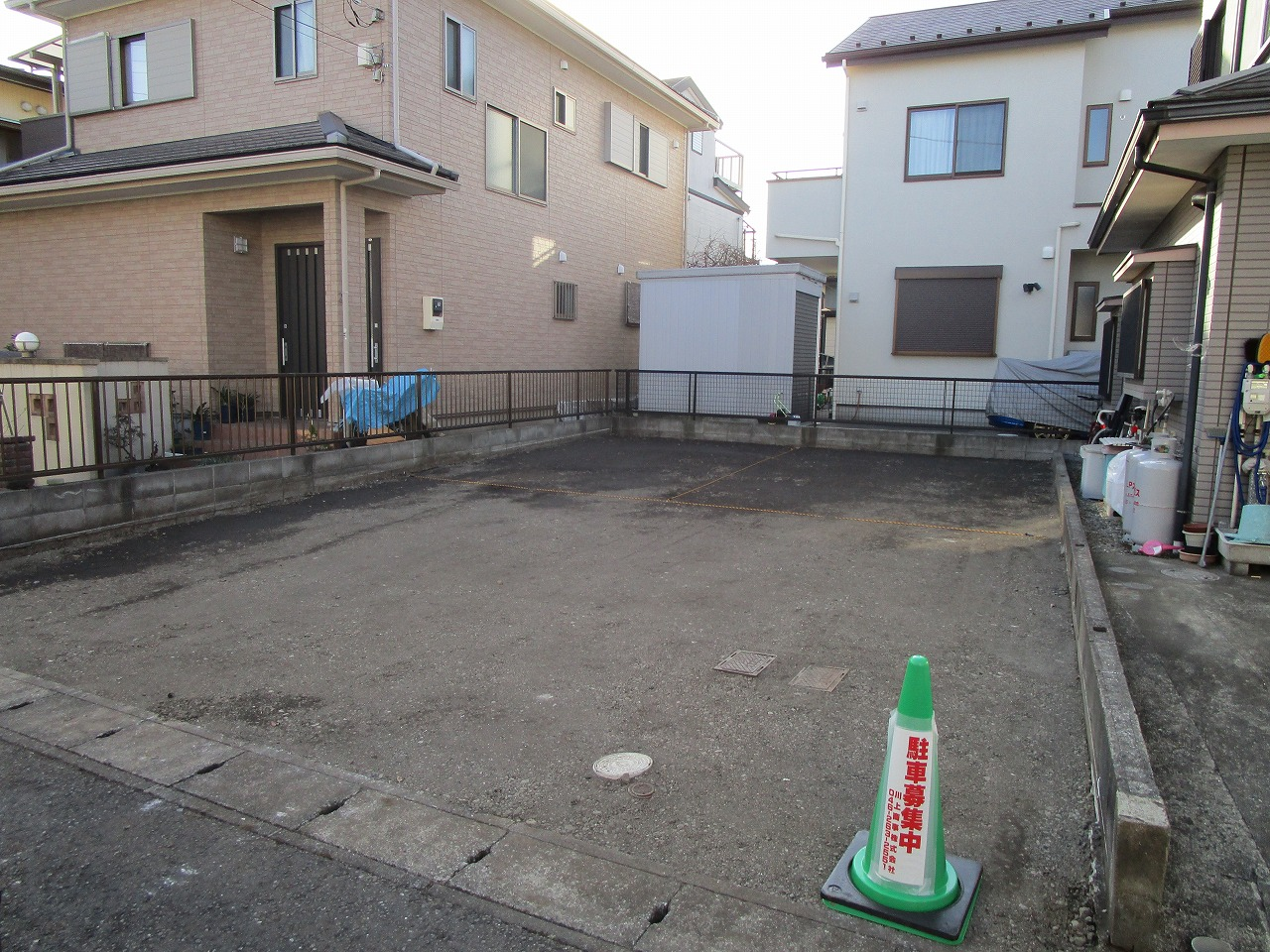 40蓼川1丁目駐車場のイメージ