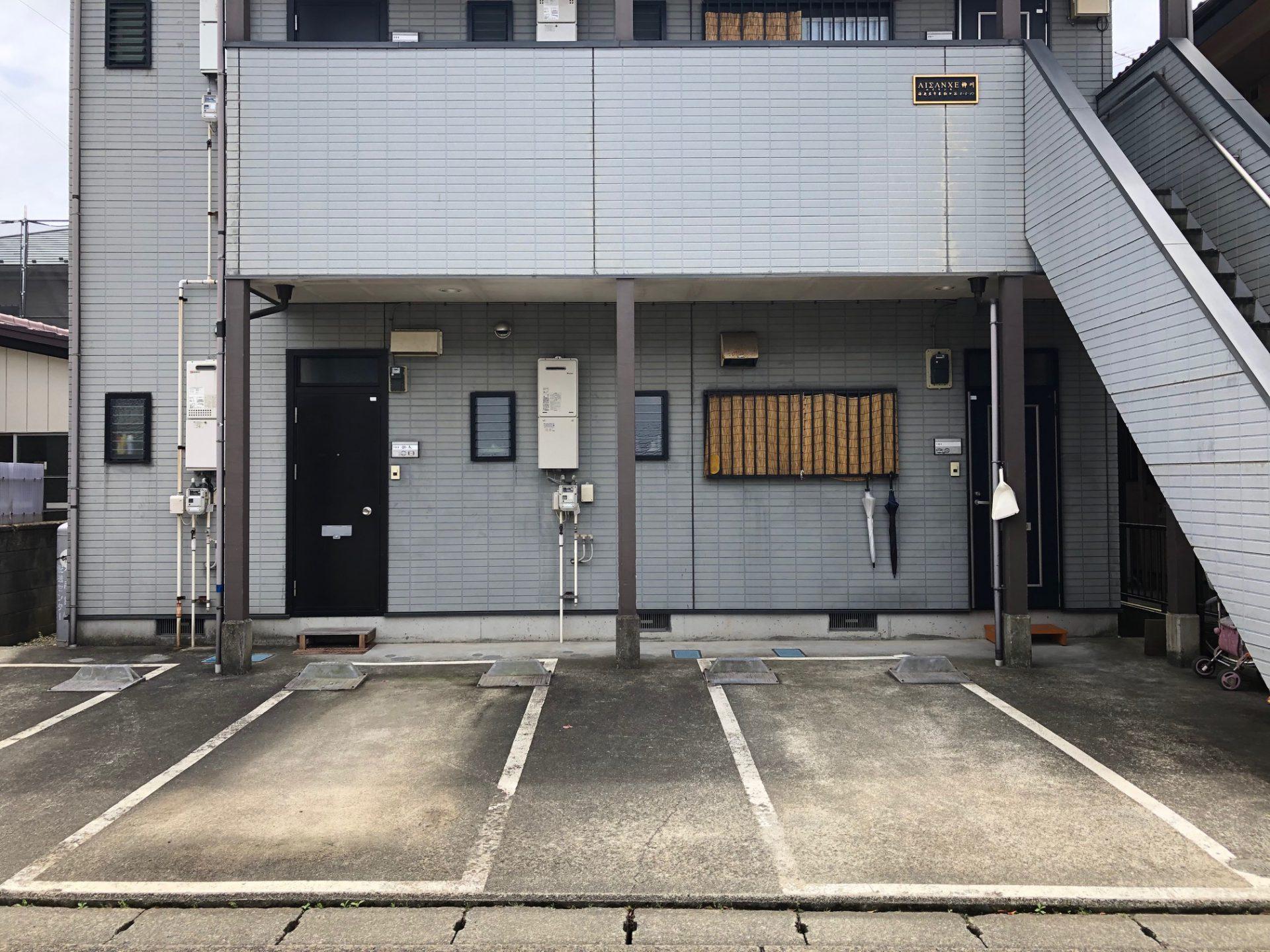 51エイサンス柳川敷地内駐車場のイメージ